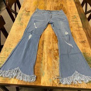 Denim - Shark Bite Jeans